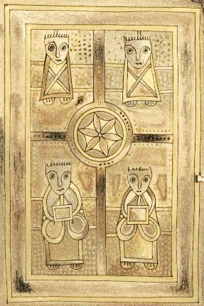 Book of Deer Four Evangelists