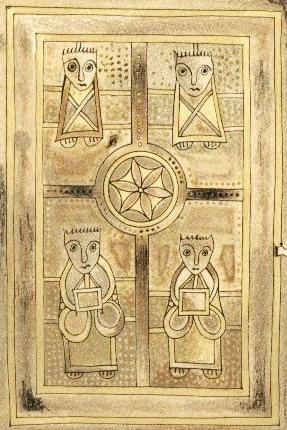 Book of Deer Four Evangelists