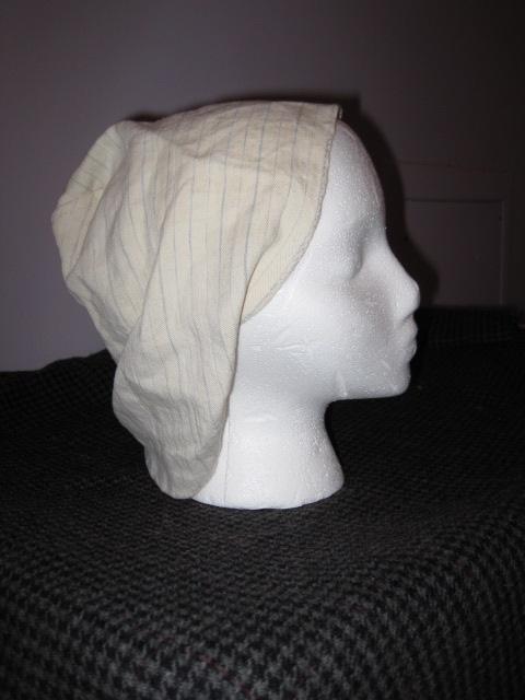 Linen Coif
